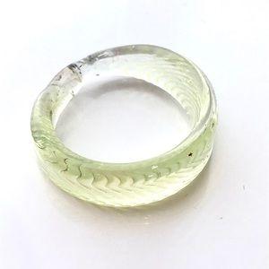 Glass Blown Artisan Ring